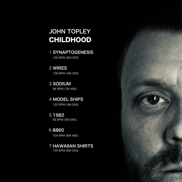 A picture of the Childhood album rear cover