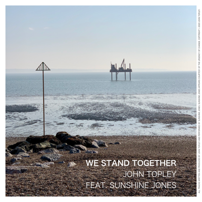 A picture of the We Stand Together single cover